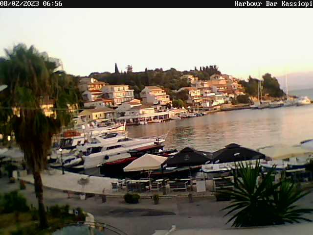 Вебкамера на острове Корфу пляж